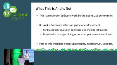openSUSE ARM boards update