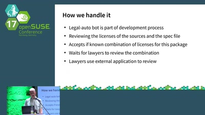 openSUSE Legal Review Process