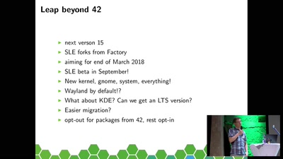 openSUSE Leap recap, state and outlook