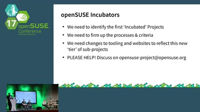 Annual Meeting With the openSUSE Board