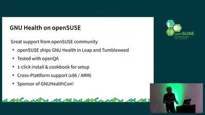 GNU Health on openSUSE - a community view