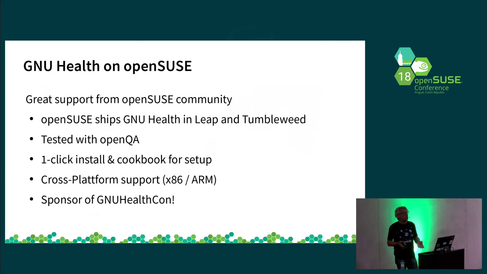 media ccc de - GNU Health on openSUSE - a community view