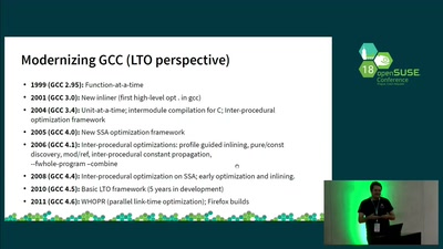 building openSUSE with GCC's link time optimization