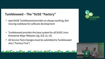 Atomic Bonds: openSUSE Kubic & SUSE CaaSP