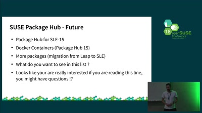 SUSE Package Hub - Community packages for Enterprise Users