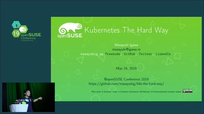 """Kubernetes The Hard Way"" on openSUSE Cloud environment"
