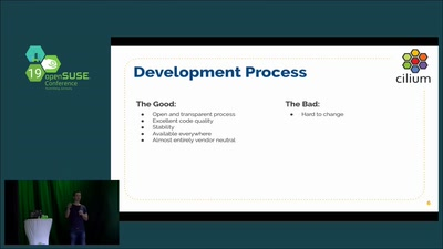 Cilium & BPF - The Future of Linux Networking and Security (Keynote Thomas Graf, Cilium)