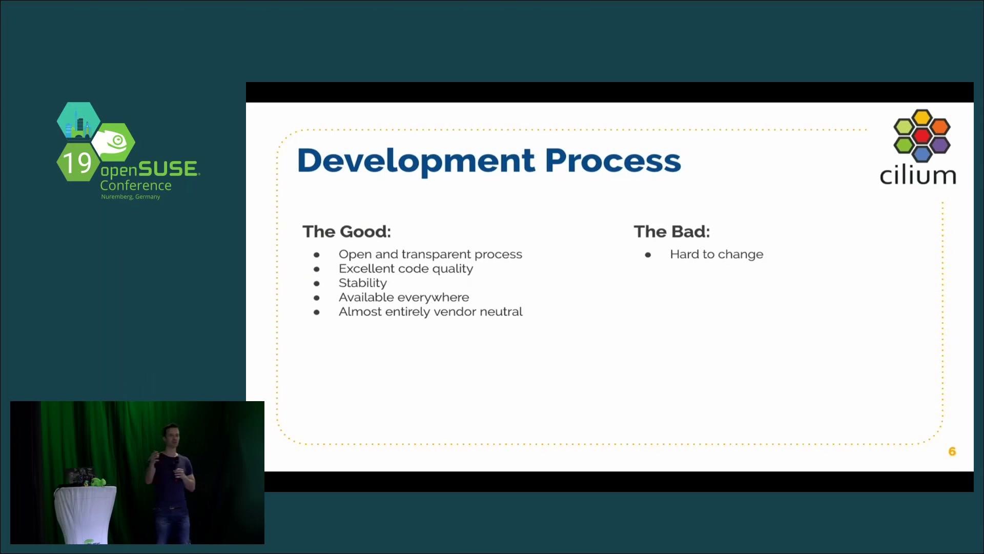 media ccc de - Cilium & BPF - The Future of Linux Networking