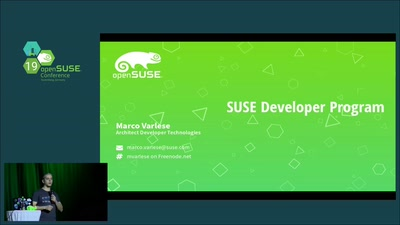 SUSE DEVELOPER PROGRAM