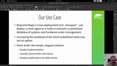 Live: Avahi / Zeroconf: Some magic sauce that's about more than files and printers
