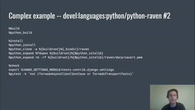 Multi-build Python