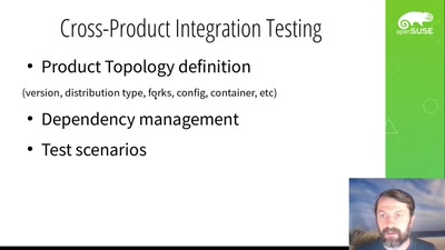 Early integration testing with environs framework