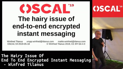 The hairy issue of end to end encrypted instant messaging