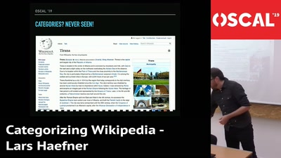 Categorizing Wikipedia