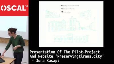 Presentation of the pilot-project and website 'Preservingtirana.city', the common public platform, connecting Participatory Architecture to Open Source culture.