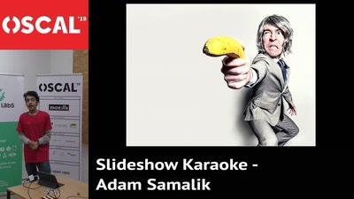 Slideshow karaoke