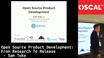 Open Source Product Development: from research to release