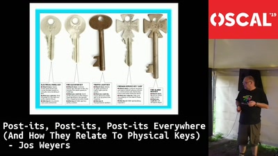 post-its, post-its, post-its everywhere (and how they relate to physical keys)