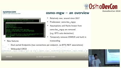 osm-mgw: The new Osmocom Media Gateway