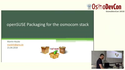 OpenSUSE packaging of Osmocom