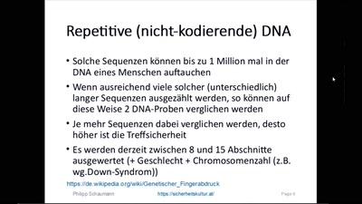 Privatsphäre und DNA