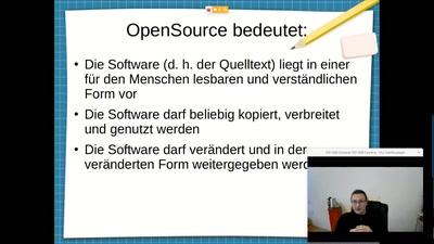 Was ist OpenSource und warum betrifft uns das?