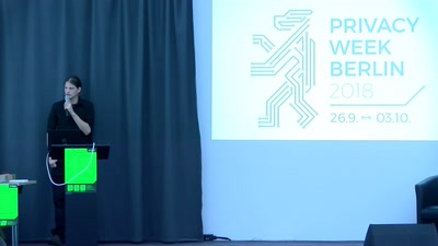 Privacy Week Berlin 2018 Opening
