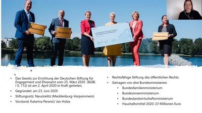 Digitales Ehrenamt meets Deutsche Stiftung fuer Engagement und Ehrenamt
