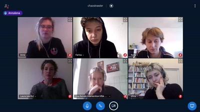 Wir wollen die ganze Bäckerei: Feministische Organisation an der Kunsthochschule - Ein Gespräch mit Cake & Cash Curational Collective und fe*male intervention