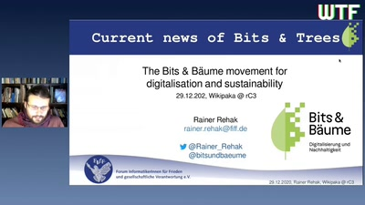 Current news of Bits&Trees (Bits & Bäume)