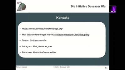 Das Lagerhaus G und die Initiative Dessauer Ufer