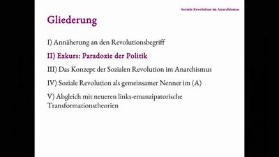 Die soziale Revolution im Anarchismus