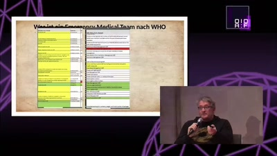 How to build an EMT - Aufbau und Einsatz des CADUS Emergency Medical Teams