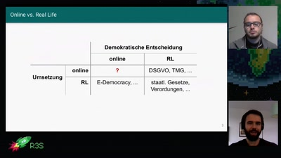 Demokratische Entscheidungen in Online Communitys
