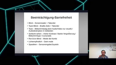 How to digitale Barrierefreiheit?
