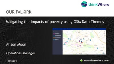 """Our Falkirk"": Mitigating the Impacts of Poverty using OSM Data Themes"