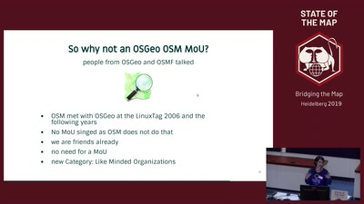 Get to know OSGeo and how OSGeo is connected to OpenStreetMap