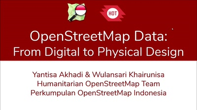 OSM Data: From Digital to Physical Design