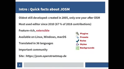 What's behind JOSM?
