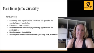 Sustainability and OSM for Development