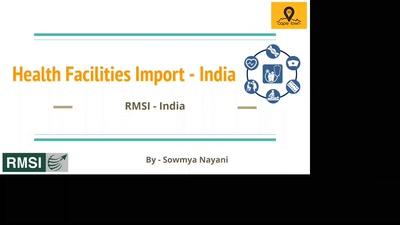 Health Facilities Import