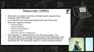 Mobile Agents and the Programming Language Telescript