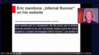 "The Virtual Machine Architecture of ""Infernal Runner"""