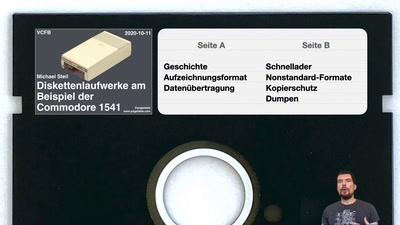 Diskettenlaufwerke am Beispiel der Commodore 1541