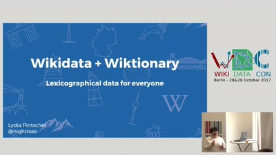 Wikidata and Wiktionary: lexicographical data for everyone
