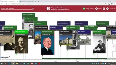 Wikidata works for Wales - Wikidata and the Dictionary of Welsh Biography