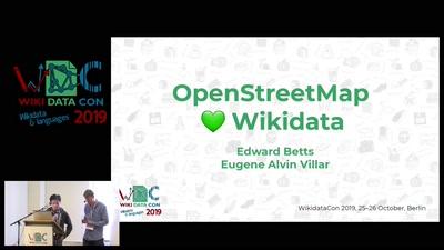 OpenStreetMap and Wikidata