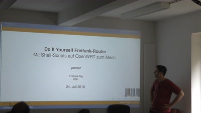 Do It Yourself Freifunk-Router