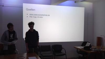 U23 Abschlusspräsentation — Kryptographie