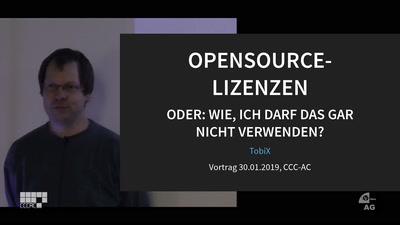 Opensource Lizenzen